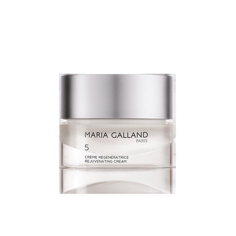 Pour les soins de votre visage, Produits Maria Galland 5 crème génératrice disponible dans votre salon Fan Beauté