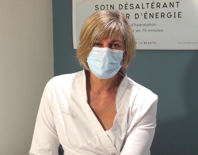 Agnes esthéticienne chez Fan Beaute à Fontenilles