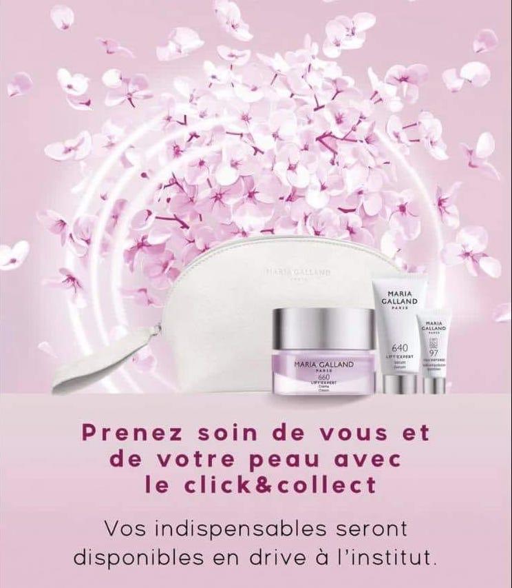 Fan Beaute Fontenilles Click & Collect produits Maria Galland