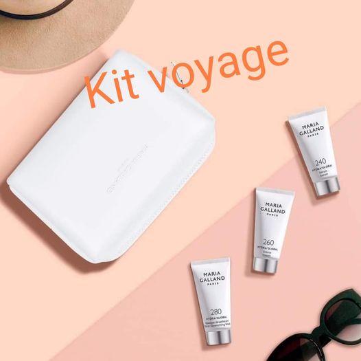 Kit voyage de chez Fan Beauté Fontenilles pour garder une peau hydratée